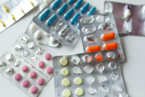 Close-up photo of assorted tablets
