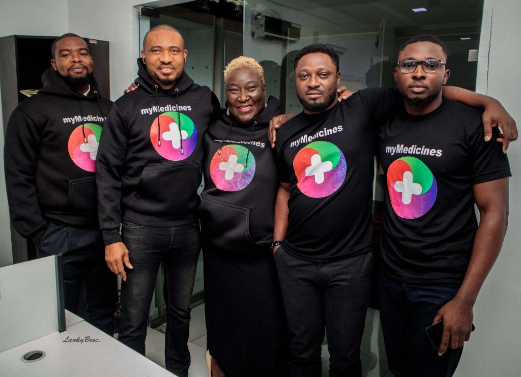 L-R Ajayi-Igunbor, Anthony, Michael Heavens, Abimbola Adebakin, Adeagbo Mayowa, Olawale Adeniyi